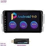Android 9.0 Autoradio, Hi-azul Car Radio 8 Zoll Car Stereo RAM 4G ROM 32G GPS Navigation Moniciver Navi für Mercedes-Benz CLK-W209 C209/ C Class...