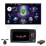 Android 8.1 Doppel-Din-Autoradio mit in-dash GPS-Navigationssystem für Audi A3 2003-2011,Fahrzeugradio mit 7 Zoll Multi-Touch-Display mit gratis...