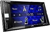 JVC KW-V250BT 2-DIN Multimedia-Autoradio mit 15, 7 cm Touchscreen (DVD, Bluetooth Freisprecheinrichtung, Soundprozessor, USB, Android- und Spotify...