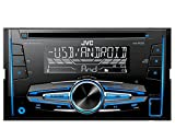 JVC KW-R520 Doppel-DIN USB/CD-Receiver mit Front-AUX-Eingang schwarz