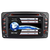 7' AUTORADIO DVD GPS Navigation NAVI USB SD BT Autoradio 3G dab Mirrorlink DAB+ Für Mercedes Benz C Klasse W203 CLK W209 W463 Vito