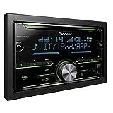 Pioneer Electronics FH-X730BT Autoradio mit CD incl. Bluetooth 2DIN Schwarz Set of 4