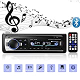 Andven Autoradio mit Bluetooth Freisprecheinrichtung, Digital Media-Receiver, 4X60W Auto Radio 1 Din, USB/ SD/ AUX/ MP3-Player Receiver mit...