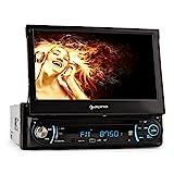 auna MVD-330 • Autoradio • Car-Radio • Moniceiver • Car-HiFi • 18 cm (7') Touchscreen Display • Bluetooth • USB- & SD-Slot •...