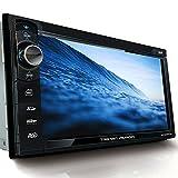 Tristan Auron BT2D7013B Autoradio mit Navi, 6,5'' Touchscreen Bildschirm, MirrorLink, Bluetooth Freisprecheinrichtung, USB/SD, CD/DVD, DAB+...