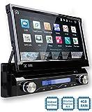 Tristan Auron BT1D7018A Autoradio mit Android 8.0, 7'' Touchscreen Bildschirm, mit Navi, GPS Navigation, Bluetooth Freisprecheinrichtung, Octa Core...
