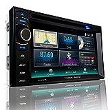Tristan Auron BT2D7013B Autoradio mit Navi, 6,5'' Touchscreen Bildschirm, Weblink, Bluetooth Freisprecheinrichtung, USB/SD, CD/DVD, DAB+...