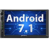 PUMPKIN Android 7.1 Autoradio Moniceiver 2GB mit Navi Unterstützt Bluetooth WLAN 4G DAB+ FastBoot Android Auto USB MicroSD Subwoofer 2 Din 7 Zoll...