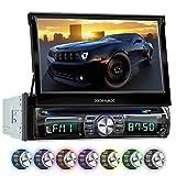 XOMAX XM-DTSB931 Autoradio / Moniceiver + Bluetooth Freisprecheinrichtung & Musikwiedergabe + 18cm / 7' HD Touchscreen Display + Audio & Video: MP3...