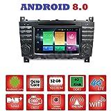 Android 8.0GPS DVD USB SD Wlan Bluetooth Autoradio 2Din NAVI Mercedes C-Klasse W203/C220/C230/C240/C280Mercedes CLK-Klasse...