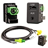USB Aux Einbau Block Schalter Adapter RCD RNS Radio´s RNS RCD 300 310 315 510