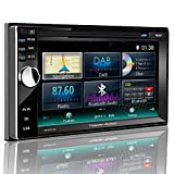 Tristan Auron BT2D7013A Autoradio mit GPS Navi, 6,5'' Touchscreen Bildschirm, WebLink, Bluetooth Freisprecheinrichtung, USB I SD, CD I DVD, DAB+...