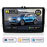 NEOTONE WRX-990A Autoradio für VW | Skoda | Seat | Navi mit Europakarten 2019 | 9 Zoll | DAB+ Unterstützung | USB | 4K Ultra HD Video | 2GB...
