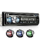 XOMAX XM-CDB618 Autoradio mit CD-Player + Bluetooth-Freisprecheinrichtung & Musikwiedergabe + 3 Farben einstellbar (Rot, Blau, Grün) + USB-Anschluss...