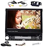 Bluetooth Digital Media Receiver GPS Navigation 17,8 cm Auto DVD-Player Single 1 DIN mit integriertem Bluetooth Kfz Stereo-Empfänger mit...