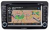 Blaupunkt Philadelphia 845 Navigationsgerät, Festeinbau Europa inkl. Fernbedienung, Bluetooth-Fre