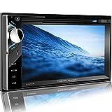 Tristan Auron BT2D7013C Autoradio mit Navi, 6,5'' Touchscreen Bildschirm, WebLink, Bluetooth Freisprecheinrichtung, 2X USB/SD, CD/DVD, DAB+...