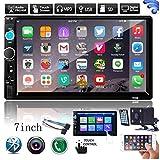 EisEyen 2DIN Auto Mp5 Player Autoradio Bluetooth 7 Zoll HD Touchscreen Auto Radio Car Radio Auto Multimedia Player TF Card(up to 32GB) FM Bluetooth...