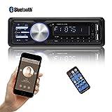 bedee Autoradio KFZ Bluetooth Audio Empfänger MP3 Player mit Freisprecheinrichtung für iPhone / iPad / iPod / Smartphone, Unterstützung USB/AUX...