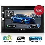 Autoradio Android CREATONE AMG-3030 | 2DIN Naviceiver | GPS Navigation (aktuelle Europa-Karten mit Radarwarnungen) | DAB+ DigitalRadio | DVD-Player |...