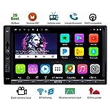 ATOTO A6 Doppel-Din Android Auto Navigation Stereo mit Dual Bluetooth - Standard A6Y2710SB 1G/16G Auto Unterhaltung Multimedia Radio, Wifi/BT...