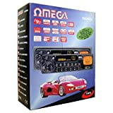 Omega 12070 Auto Stereo Kassetten Player 4 Kanal Ausgang LCD Display AM/FM Radio