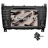 Ohok 7 Zoll Bildschirm 2 Din Autoradio Android 8.0 Oreo Radio mit Navi DVD GPS Navigation Unterstützt Bluetooth WLAN DAB+ für Mercedes-Benz...