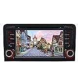 Bilaterale Taste 7' AUTORADIO MIT 3G DVD GPS Navigation USB SD Bluetooth Autoradio CD Moniceiver+Bluetooth+ Dual Zone+Subwoofer+DAB+Mirrorlink+VMCD...