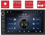 M.I.C. AU7-Lite Android 9 Autoradio Radio Navigationssystem:DAB+ digitalradio Bluetooth WLAN 7 Zoll Bildschirm 2G+32G USB sd GPS 2 DIN universal...