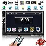 Autoradio mit Navigation, ICOCO 7 Zoll HD Touchscreen Auto Radio MP5 Spieler mit GPS Navigation und 8GB Map Karte Unterstützung...