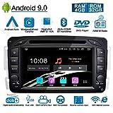 Ohok 7 Zoll Bildschirm 2 Din Autoradio Android 9.0 Pie Octa Core 4G+32G Radio mit Navi DVD GPS Navigation Unterstützt Bluetooth DAB+ für...