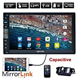 Marke Upgarde Version 7 Zoll kapazitiver Touch Screen Audio (Spiegel Link for GPS Android Phone) Double 2 Din Bluetooth Auto-Stereo-In-Schlag-Video...