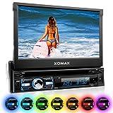 XOMAX XM-DTSB930 Autoradio / Moniceiver + Bluetooth Freisprecheinrichtung & Musikwiedergabe + 18cm / 7' HD Touchscreen Display + Audio & Video: MP3...