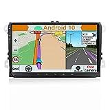 YUNTX Android 10.0 Autoradio Compatible Avec VW Passat/Golf/Skoda/Seat - GPS 2 Din - Caméra arrière et Canbus GRATUITES - 9 Zoll - Soutien DAB+...
