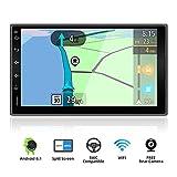 YUNTX Android 9.0 Doppel Din Autoradio mit navi - GPS 2 Din - Rückfahrkamera einbeziehen - 7 Zoll - Soutien DAB+ | Commande au Volant | 4G | WiFi |...