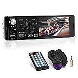 1 Din Autoradio MP5 mit Kapazitiver Touchscreen, Auto Radio mit Bluetooth Freisprecheinrichtung und Fernbedienung für Lenkrad, FM Radio/MP3 MP5...