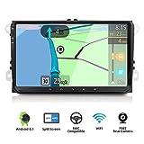 YUNTX Android 9.0 Autoradio Compatible Avec VW Passat/Golf/Skoda/Seat - GPS 2 Din - Caméra arrière et Canbus GRATUITES - 9 Zoll - Soutien DAB+...
