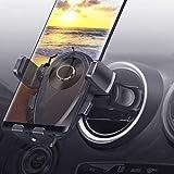 Kaome Handyhalterung für Runde lüftungen Mercedes Benz Handyhalterung Auto Lüftung Einhandbedienung Kratzschutz KFZ Handy Halterung für iPhone...