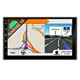 JOYX Android 10 Doppel Din Autoradio Mit GPS Navi -2G RAM + 32G ROM - Rückfahrkamera KOSTENLOS - 7 Zoll HD Bildschirm - Unterstützen DAB+...