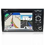 JOYX Android 10 Doppel Din Autoradio Passt für Audi A4 2003-2011 GPS Navigation | Rückfahrkamera Canbus KOSTENLOS | 2G+32G | 7 Zoll | MIT...