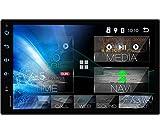 Tristan Auron BT2D7018A Android 10.0 Autoradio mit Navi - 7' Touchscreen GPS Bluetooth Freisprecheinrichtung I 32GB MirrorLink USB SD DAB Plus OBD 2...