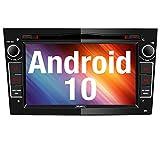 Vanku Android 10 Autoradio für Opel Radio mit Navi CD DVD Player Unterstützt Qualcomm Bluetooth 5.0 DAB+ WiFi 4G Android Auto 7 Zoll Bildschrim...