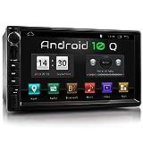 XOMAX XM-2VA757 Autoradio mit Android 10, QuadCore, 2GB RAM, 32GB ROM, GPS Navigation I Support: WiFi WLAN, 3G 4G, DAB+, OBD2 I Bluetooth, 7 Zoll / 18...