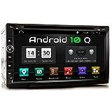XOMAX XM-2DA758 Autoradio mit Android 10, QuadCore, 2GB RAM, 32GB ROM, GPS Navigation I Support: WiFi WLAN, 3G 4G, DAB+, OBD2 I Bluetooth, 6,9 Zoll /...