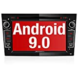 PUMPKIN Android 9.0 Autoradio Radio für Opel Astra Corsa Zafira mit Navi DVD Player Unterstützt Bluetooth DAB+ USB CD DVD Android Auto MicroSD 2 Din...