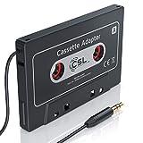 HQ Autoradio Kassettenadapter AUX - KFZ Autoradio KFZ Kassenadapter - Car Audio Cassette Adapter - 3,5 mm Klinkenbuchse - für iPod, iPhone, Discman,...