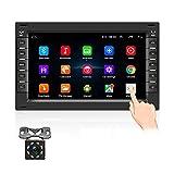 OiLiehu Doppel Din Android Auto Radio Bluetooth Mit Navi FüR Vw 7 Zoll Touchscreen Autoradio UnterstüTzt...