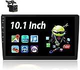 Android Autoradio - Bluetooth Autoradio Doppel Din mit 10.1'' HD Touchscreen MP5 Player Unterstützt Freisprecheinrichtung,WiFi,Mirror Link,FM...