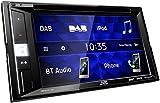 JVC KW-V255DBT DAB+ Multimedia-Autoradio mit 15,7 cm Touchscreen (2-DIN, DVD, Bluetooth Freisprecheinrichtung, Soundprozessor, USB, Android- & Spotify...