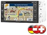 NavGear StreetMate 2-DIN-Autoradio mit 6'-Navi DSR-N 62 D-A-CH